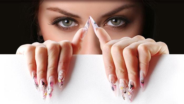 Обучение классическому дизайну ногтей