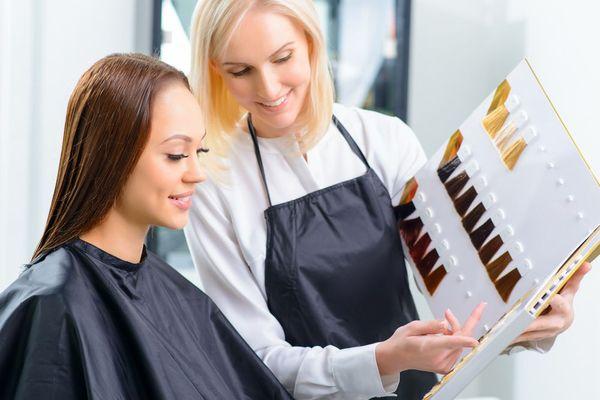 Курсы колористики волос